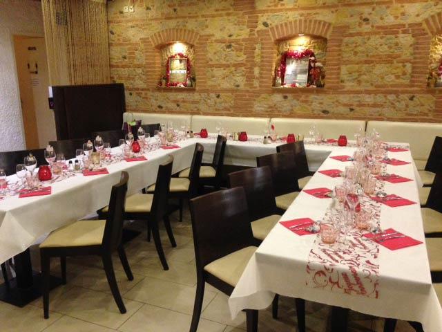 salle de restaurant pour groupe au Barcares 66