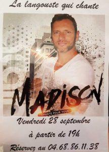 Alain Madison à La Langouste qui Chante au Barcarès