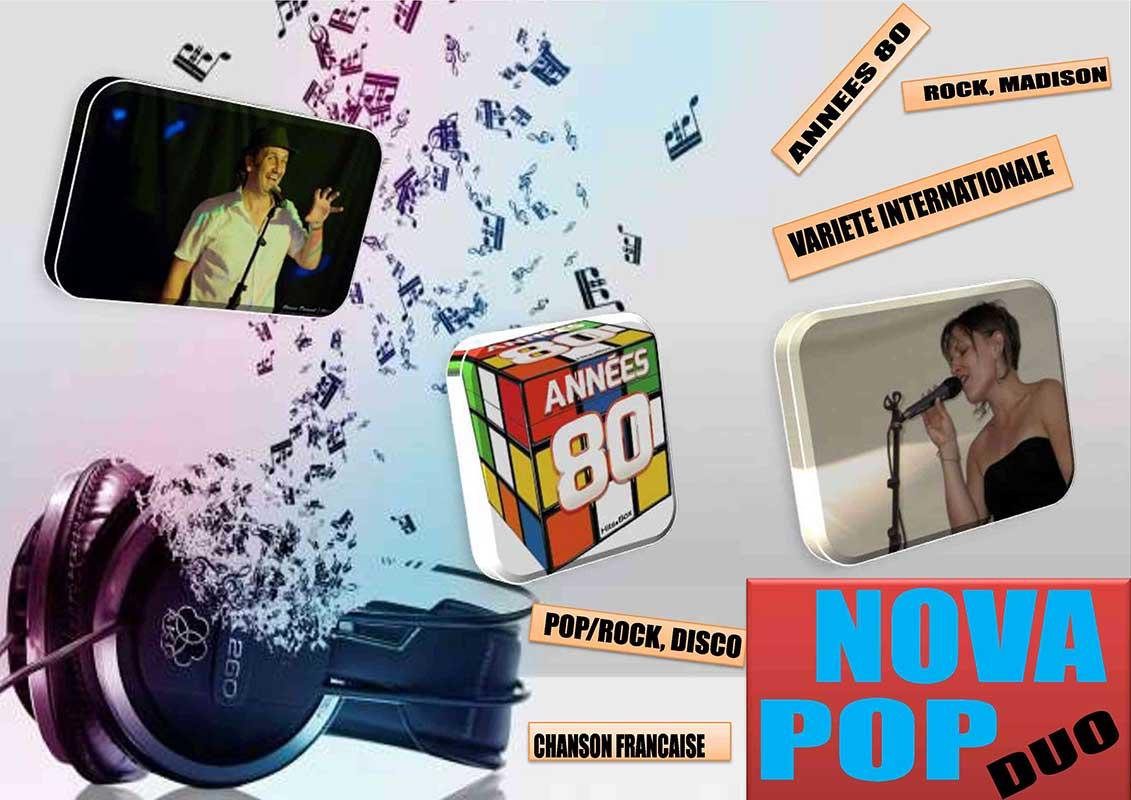 Groupe Nova Pop à La Langouste qui Chante